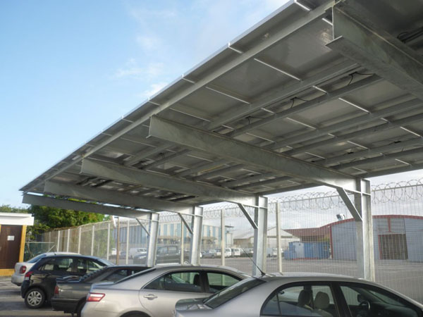 Off Grid Solar Carport : Commercial phase inverter off grid systems