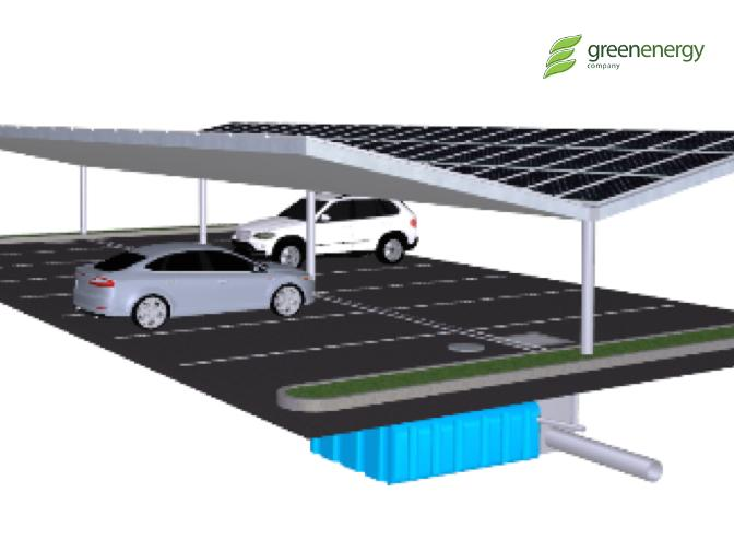 Solar Car Parking